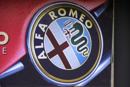 alfa: Brand Name: Alfa Romeo, December 2013 Berlin.