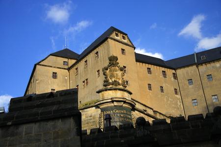 saxon: Fortress Koenigstein Saxon Switzerland.