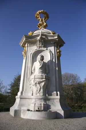 beethoven: Ludwig van Beethoven - monument in Berlins Tiergarten.