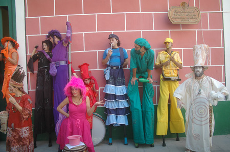 pantomima: Pantomima Street Theatre, La Habana, Cuba.