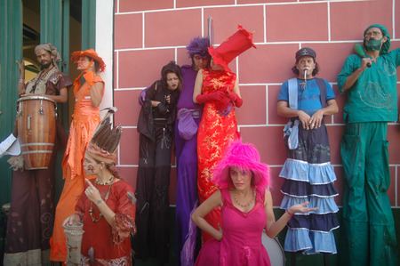 pantomime: Pantomima Street Theatre, La Habana, Cuba.