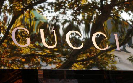 Markenname: Gucci. Editorial