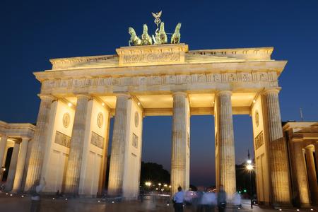 quadriga: Pariser Platz, Brandenburg Gate, Berlin-Mitte.