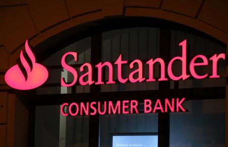 santander: Brand name: Santander Consumer Bank, Berlin.