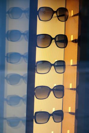 gucci: Sunglasses of the brand Gucci, Berlin. Editorial