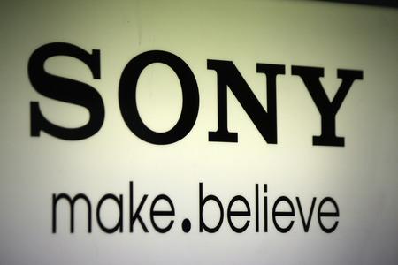 sony: Brand Name: Sony, Berlin. Editorial