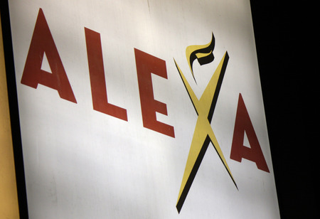 alexa: Brand Name: Alexa, in Berlin.