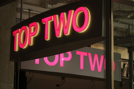 two on top: Brand Name: Top Two, Berlin.