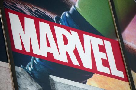 marvel: Brand name Marvel, Berlin.