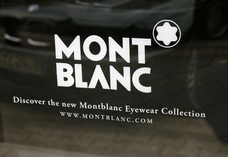 blanc: Brand name: Mont Blanc, Berlin.