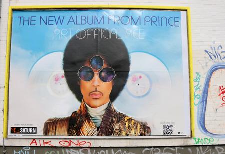 """Werbeplakat für ein Konzert der """"Prince"""", Berlin."""