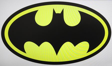 """Batman"" Logo, Berlin."
