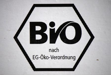 siegel: Brand Name: Bio EC Eco Regulation, Berlin.