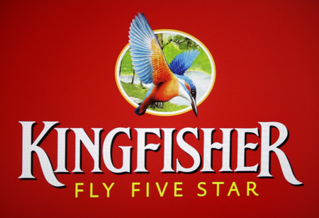kingfisher: Brand Name: Kingfisher, Berlin.