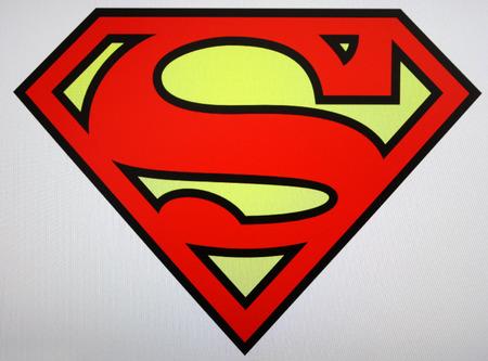 superman: Superman logo, Berlin.