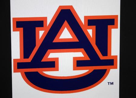 """das Logo der """"Auburn Tigers"""""""