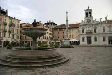 san giacomo: Piazza San Giacomo, Udine, Italy.