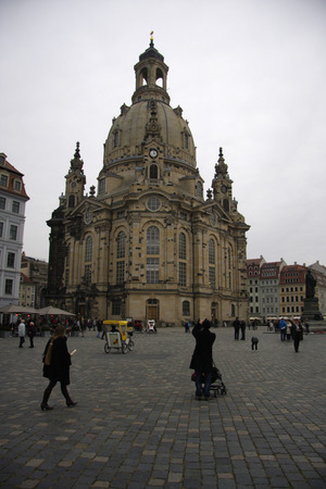 dresden: Dresden Frauenkirche is a Lutheran church in Dresden, the capital of the German state of Saxony. Editorial