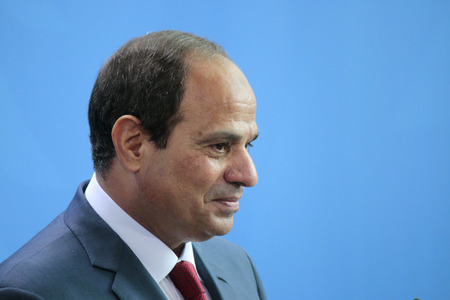 chancellerie: Abd al-Fattah as Sisi - Meeting of the German Chancellor to the Egyptian President, the Federal Chancellery, June 3, 2015, Berlin..