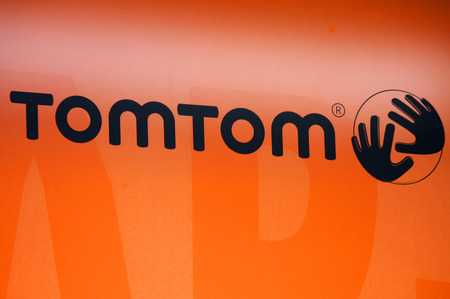 tom': Brand Name: Tom Tom, December 2013 Berlin.