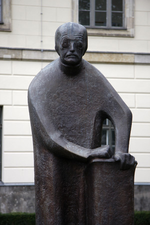planck: Bust of Max Planck on the campus of Humboldt Universit, Berlin-Mitte. Editorial