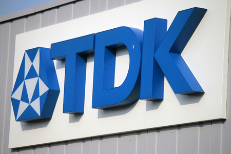 tdk: the logo of the brand TDK, Berlin.