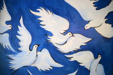 graffity: Peace Dove Graffity, Berlin. Editorial