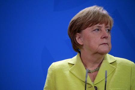 chancellerie: BKin Angela Merkel - Meeting of the European Round Table of Industrialists ERT, Federal Chancellery, June 1 2015 Berlin.