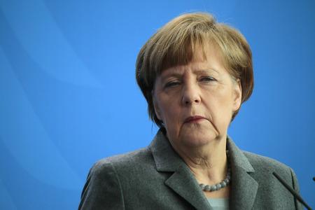 BKin Angela Merkel - Pressekonferenz nach dem deutsch-französischen Regierungskonsultationen, Kanzleramt, 31. März 2015 in Berlin.