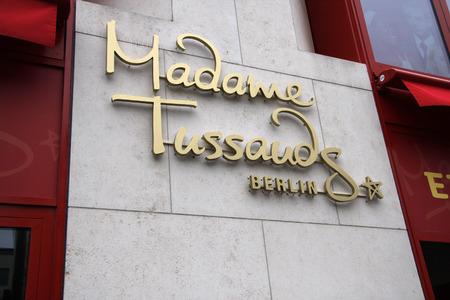 den: Madame Tussauds, July 10th 2008, Unter den Linden, Berlin-Mitte. Editorial