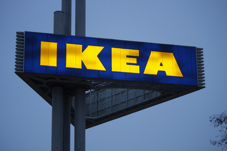 spandau: Brand Name: Ikea, Berlin. Editorial