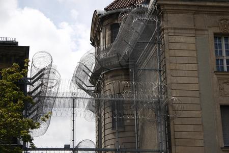 detention: Impressions: Detention Center in Berlin-Moabit. Editorial