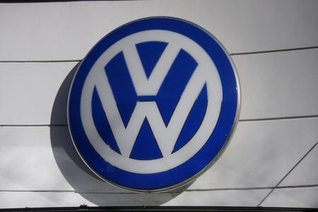 vw: Brand Name: VW Volkswagen, Berlin.