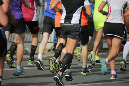 Impressionen - Berlin-Marathon, 28. September 2014 in Berlin-Mitte. Editorial