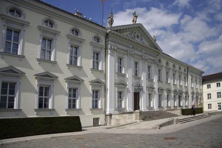 bellevue: Schloss Bellevue, Berlin.