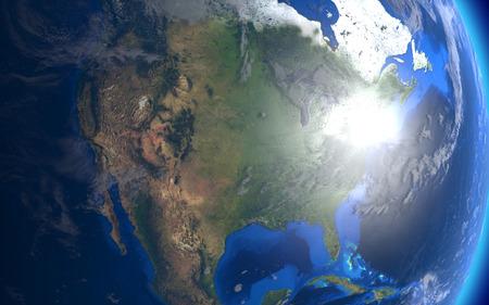 vulnerable: North America Stock Photo