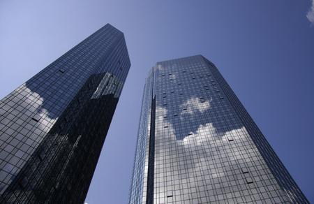 frankfurt: Zentrale der Deutschen Bank, Frankfurt am Main. Editorial