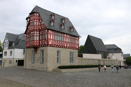 limburg: Bischhofsresidenz, Limburg, Hessen. Editorial