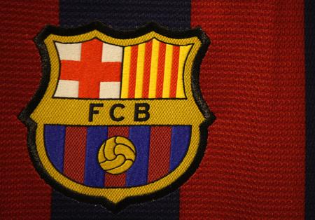 """Markenname: """"FC Barcelona"""", Berlin."""