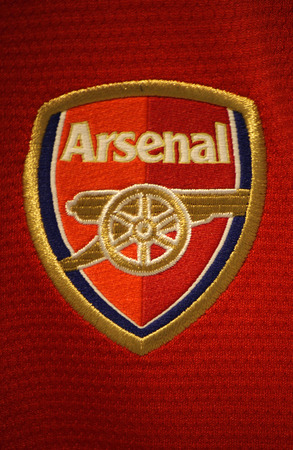 "Markenname: ""Arsenal London"", Berlin."