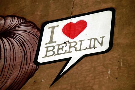 "graffity: Graffity: ""I love Berlin"" Berlin"