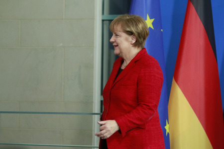 chancellor: German Chancellor Angela Merkel - Meeting of the German Chancellor with the Australian Minister President Federal Chancellery 13 November 2015 Berlin Editorial