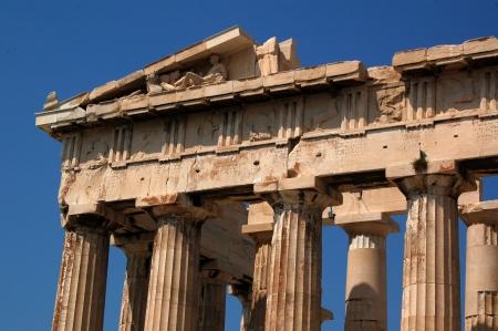 Greece Parthenon detail