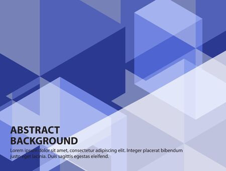 Abstract Geometric Background Modern Design,Vector Illustration. Ilustração