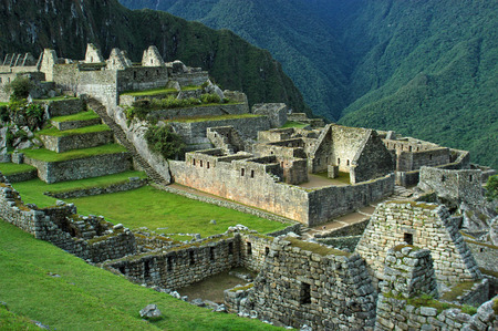 sacred valley of the incas: Machu Picchu - Lower City