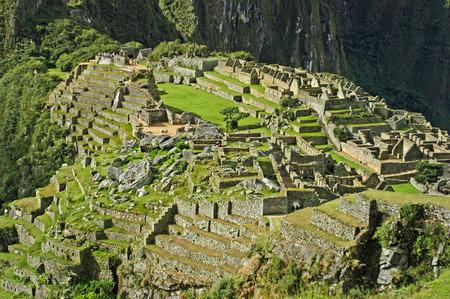 machu picchu: Machu Picchu - City Ruins