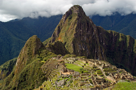 sacred valley of the incas: Machu Picchu and Old Peak