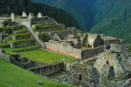 machu picchu: Machu Picchu 45 - Upper City