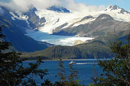 alaska scenic: Prince William Sound - Alaska Stock Photo