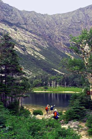 Chimney Pond - Mt. Kathadin